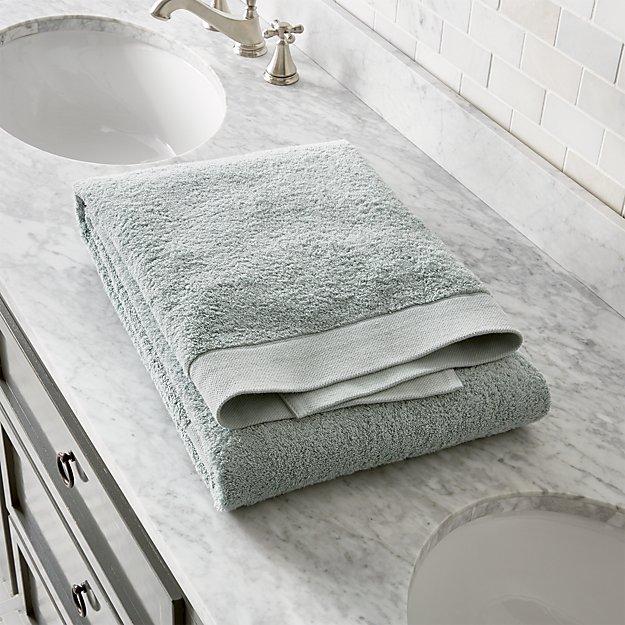 Egyptian Cotton Spa Blue Bath Sheet