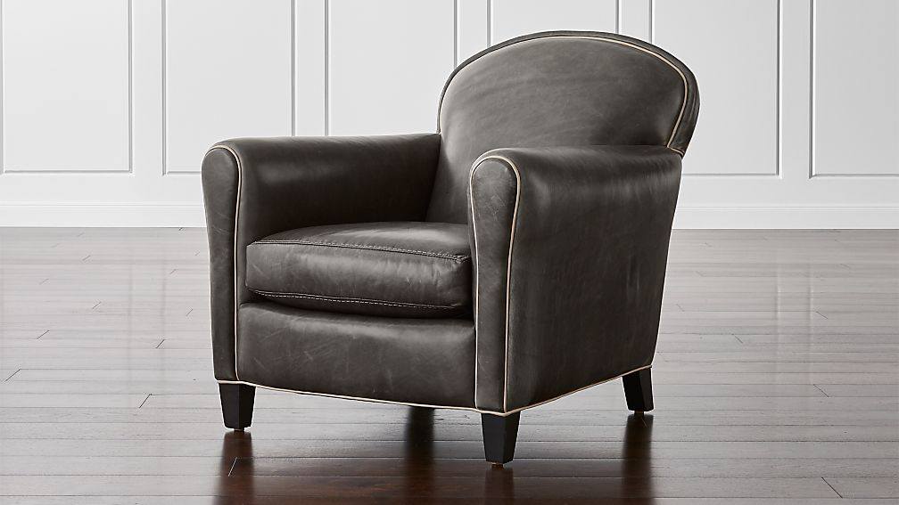 Eiffel Leather Chair - Image 1 of 7
