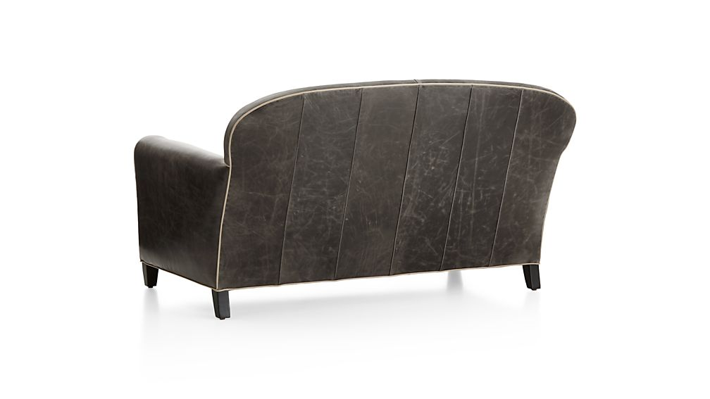 Eiffel Leather Loveseat