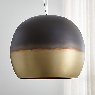 Elara Metal Globe Pendant Light