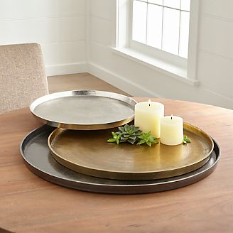 Decorative Trays And Serving Platters Crate And Barrel