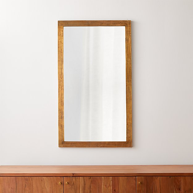 Element Brass Wall Mirror - Image 1 of 8