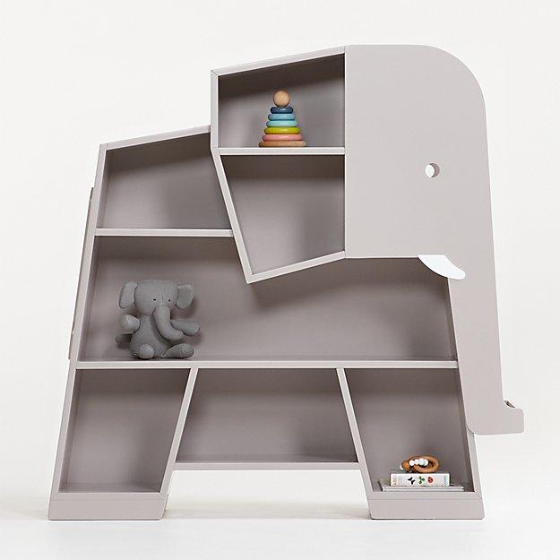 Elephant Grey Bookcase - Image 1 of 5