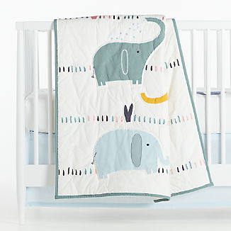 Elephant Baby Bedding