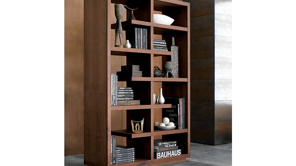 "Elevate Walnut 68"" Bookcase"