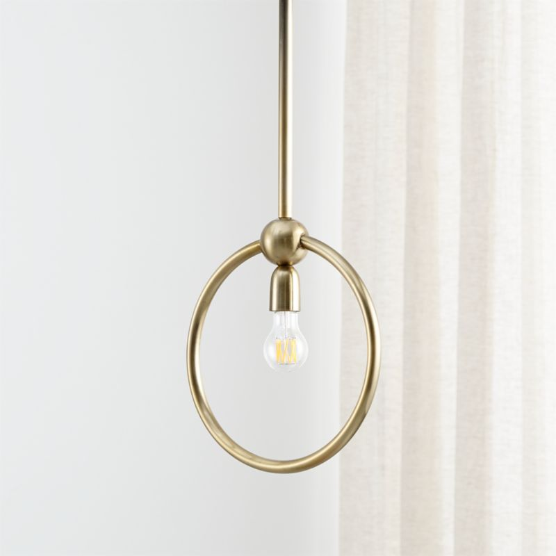 Gracie Circle Pendant Light + Reviews