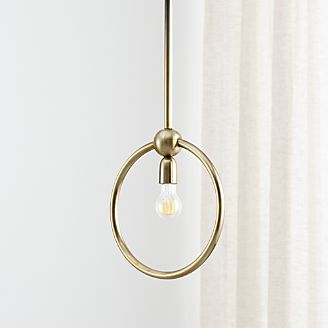 Elio Circle Pendant Light