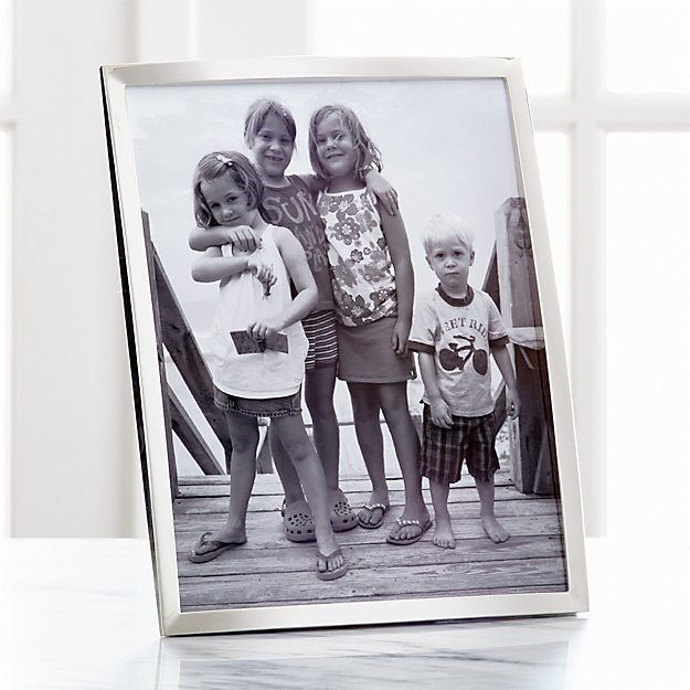 Eliza Silver 8x10 Picture Frame - Image 1 of 11