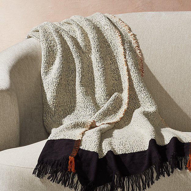 Elki Textured Throw - Image 1 of 4