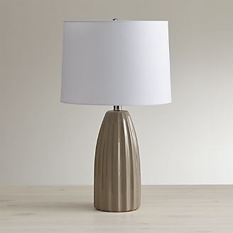 Table Lamps for Bedside and Desk | Crate and Barrel