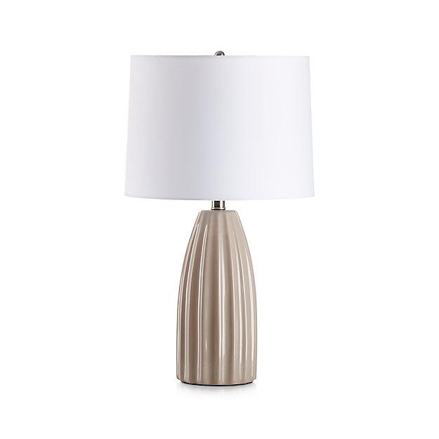 Ella Grey Table Lamp In Table Amp Desk Lamps Reviews