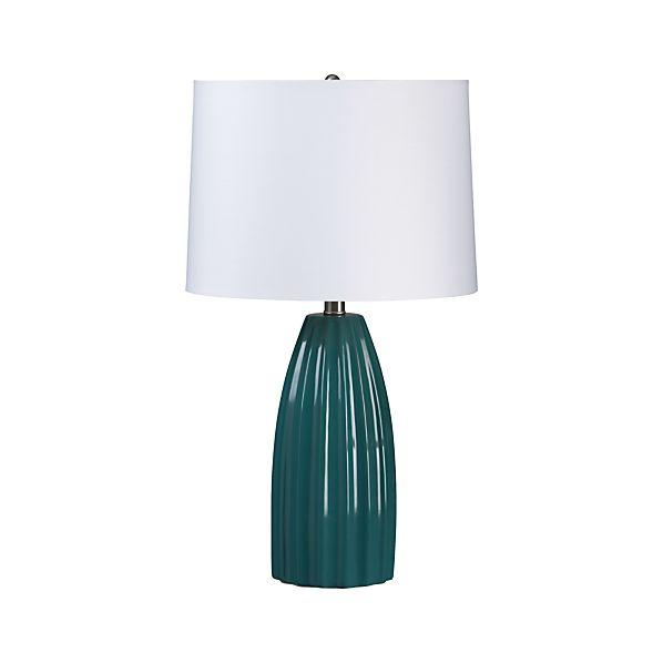 Ella Teal Table Lamp