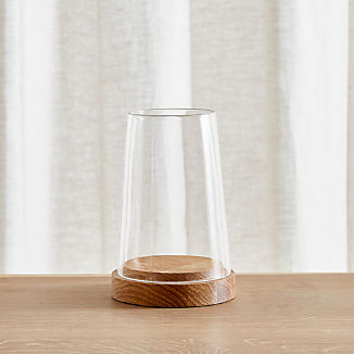 Wooden Candle Holders Crate And Barrel