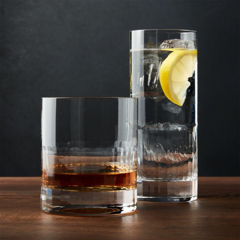 Ellington Drinking Glasses by Crate&Barrel