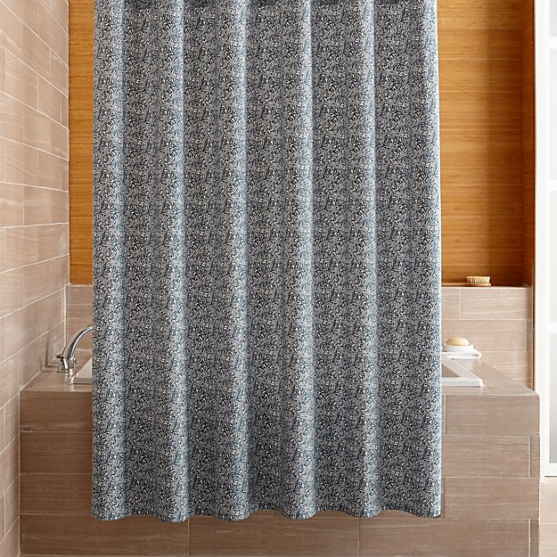 Ellio Organic Blue Shower Curtain Reviews