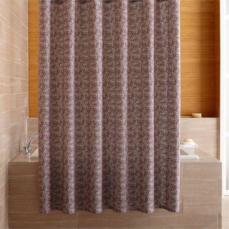 Ellio Organic Plum Shower Curtain Reviews