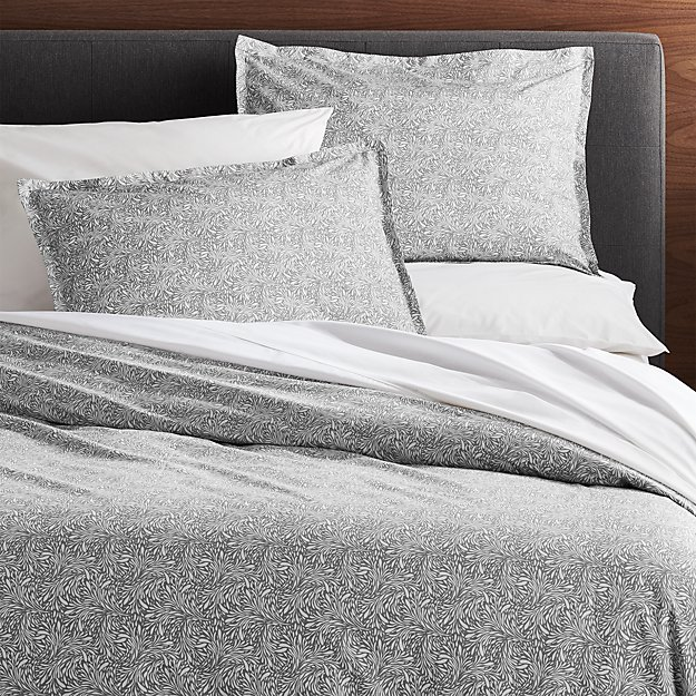 Ellio Grey Organic Duvet Covers and Pillow Shams - Image 1 of 4