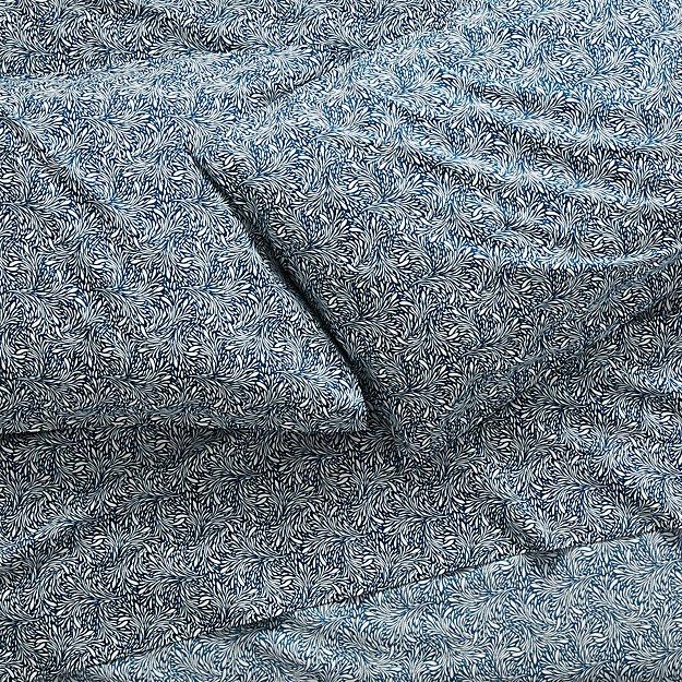 Ellio Organic Blue Sheet Sets - Image 1 of 4