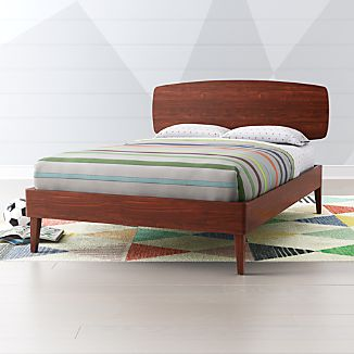 Mid Century Modern Beds Crate And Barrel
