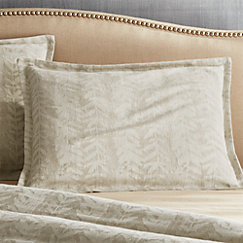 Ellis Leaf Pattern Duvet Covers And Pillow Shams Crate