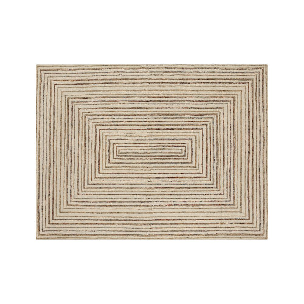 Ellwood Wool-Blend 9'x12' Rug - Crate and Barrel
