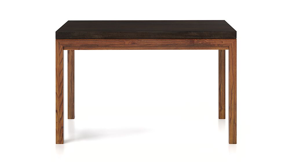 Parsons Myrtle Top/ Elm Base 48x28 High Dining Table