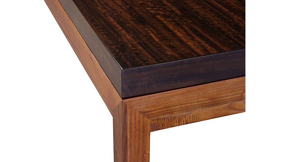 Parsons Myrtle Top/ Elm Base 72x42 Dining Table