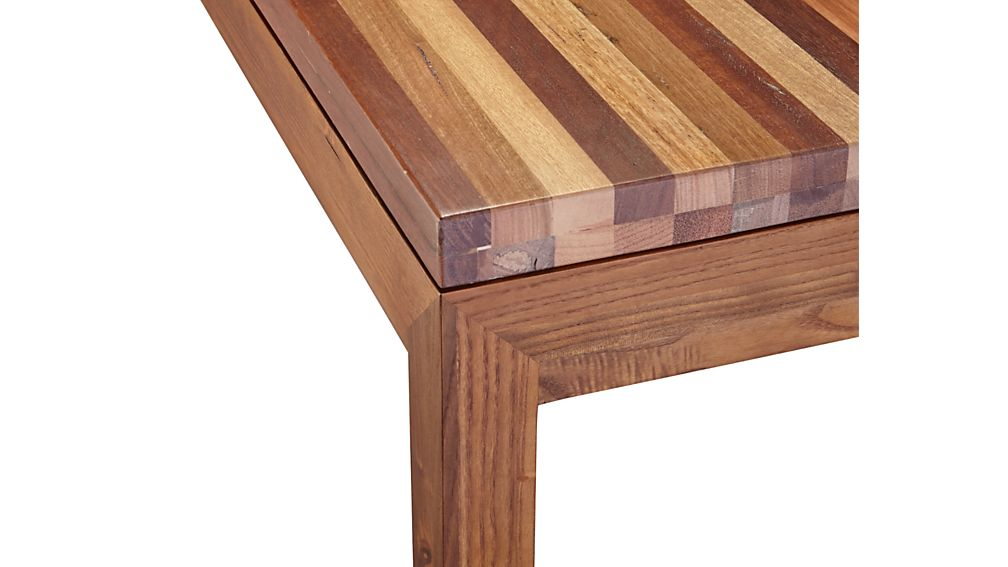 Parsons Reclaimed Wood Top/ Elm Base 48x28 Dining Table