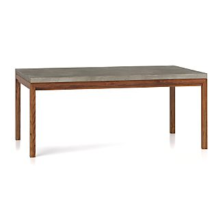 Modern Wood Dining Tables Crate And Barrel - Modern-wood-dining-room-table