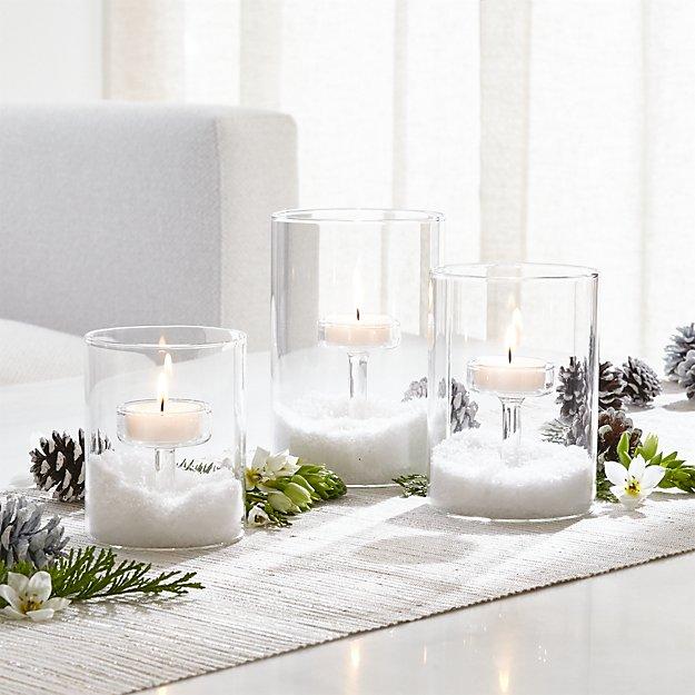 Elsa Glass Tea Light Candle Holders - Image 1 of 8