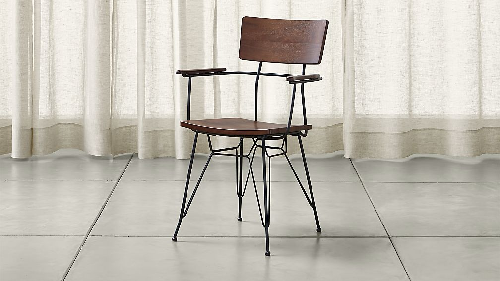 Elston Dining Arm Chair - Image 1 of 11