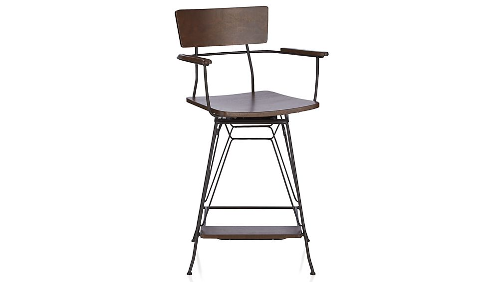 Elston Swivel Bar Stool