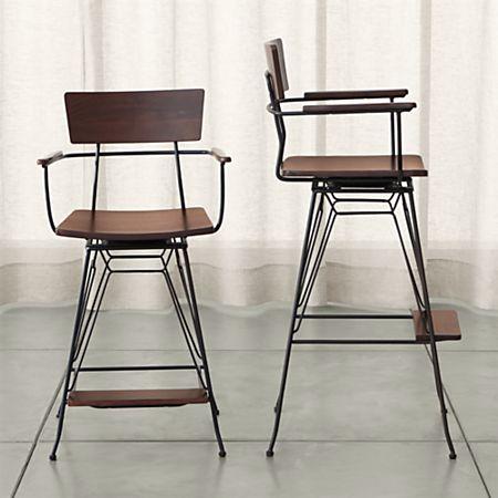 Wondrous Elston Swivel Bar Stools Ncnpc Chair Design For Home Ncnpcorg