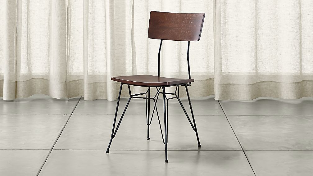 Elston dining chair reviews crate and barrel