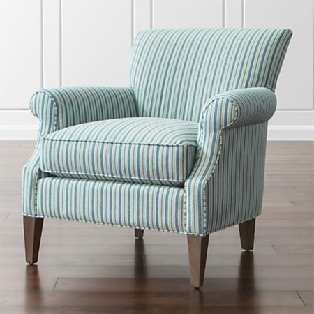 Elyse Blue And White Chair Reviews