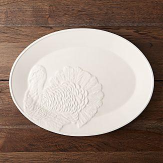 Embossed Turkey Platter