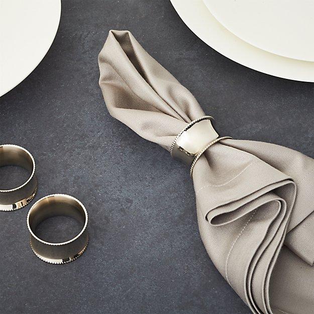 Napkin Ring Folding With Silverware
