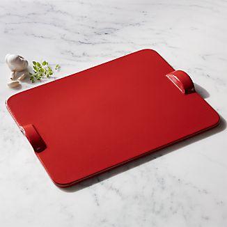 Emile Henry Red Rectangular Pizza Stone