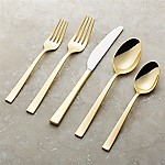 Ellenore Gold 20-Piece Flatware Set