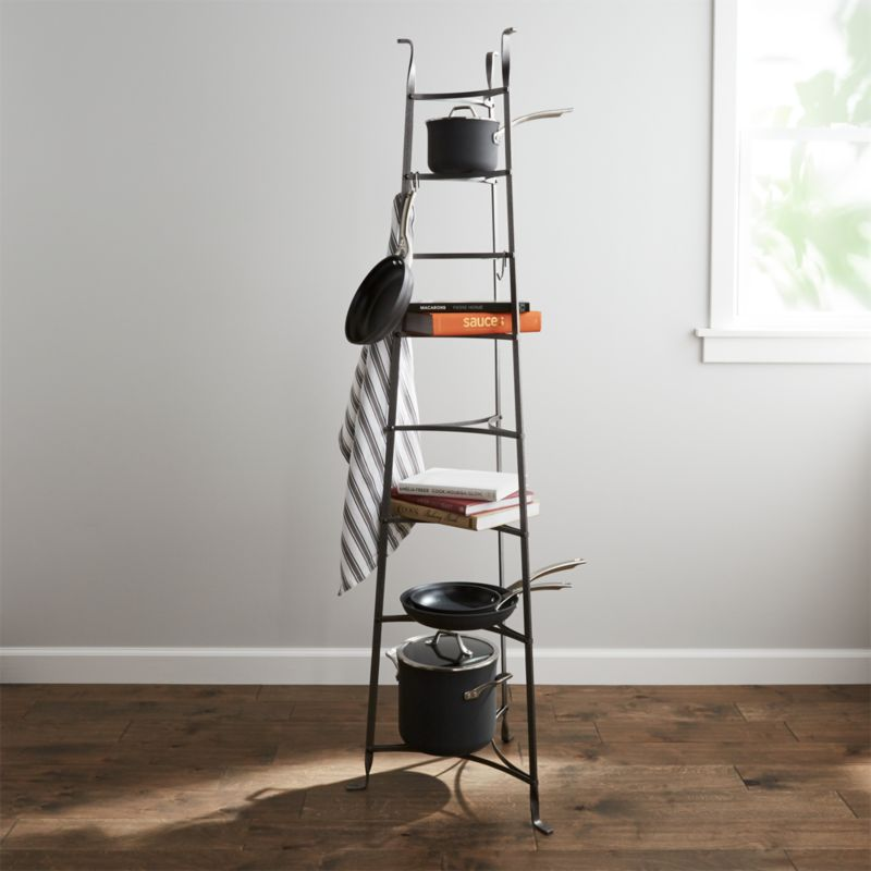 Enclume Standing 8 Tier Pot Rack Reviews Crate And Barrel