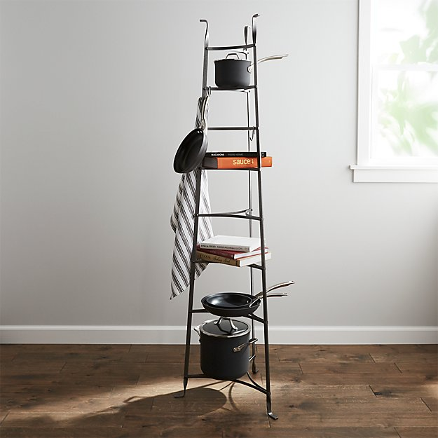 Enclume ® Standing 8-Tier Pot Rack | Crate and Barrel