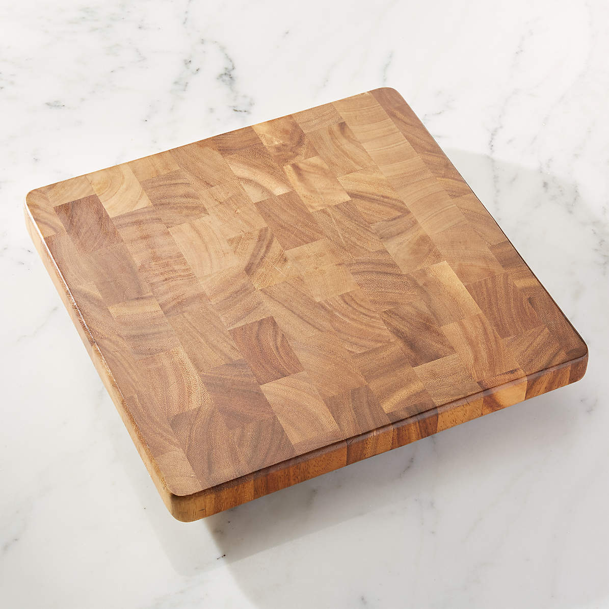 Square End Grain Cutting Board Reviews Crate And Barrel