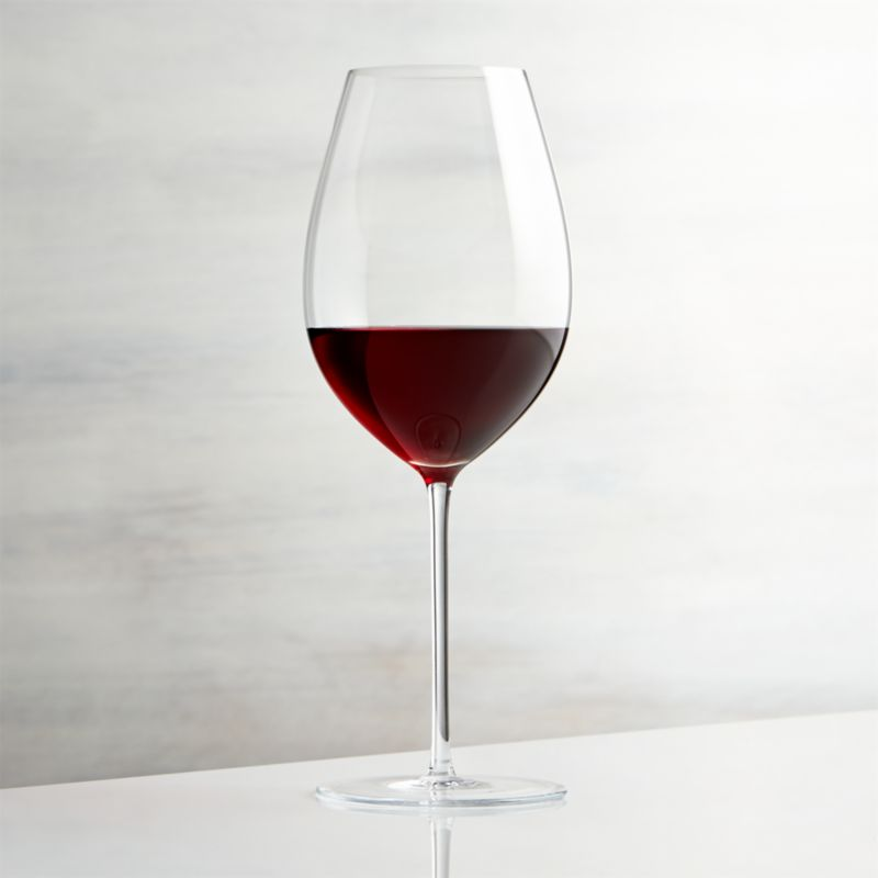 enoteca red wine glass reviews crate and barrel. Black Bedroom Furniture Sets. Home Design Ideas