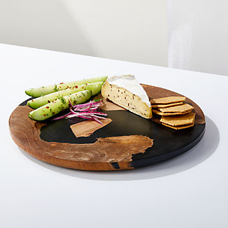 2861163900 Serving Trays: Wooden, Melamine, Metal   Crate and Barrel