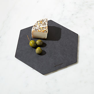 Epicurean ® Hexagon Cut and Serve Board