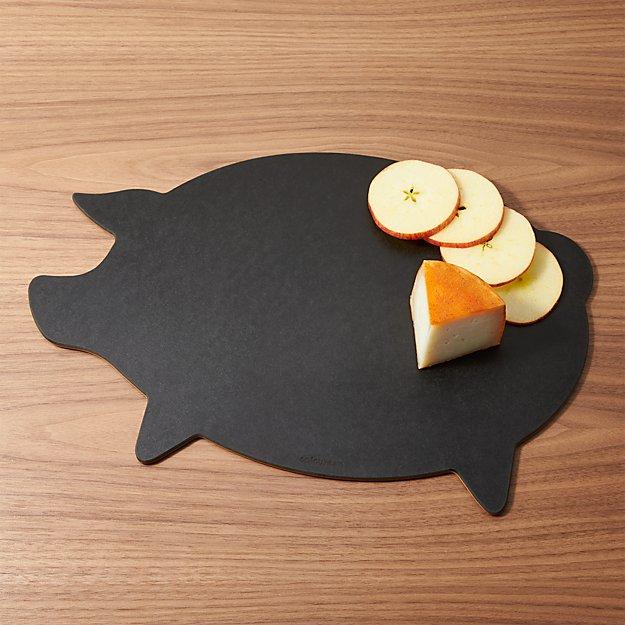 Epicurean ® Dishwasher-Safe Pig Board - Image 1 of 4