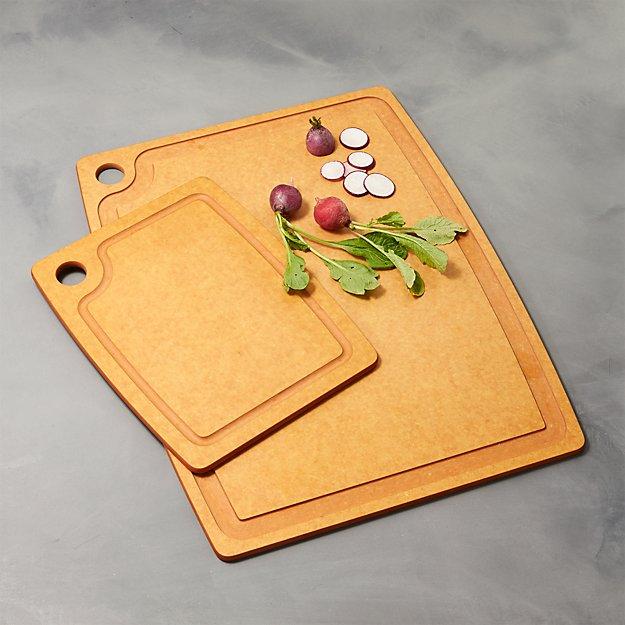 epicurean ® natural dishwasher safe cutting boards  crate and barrel, Kitchen design