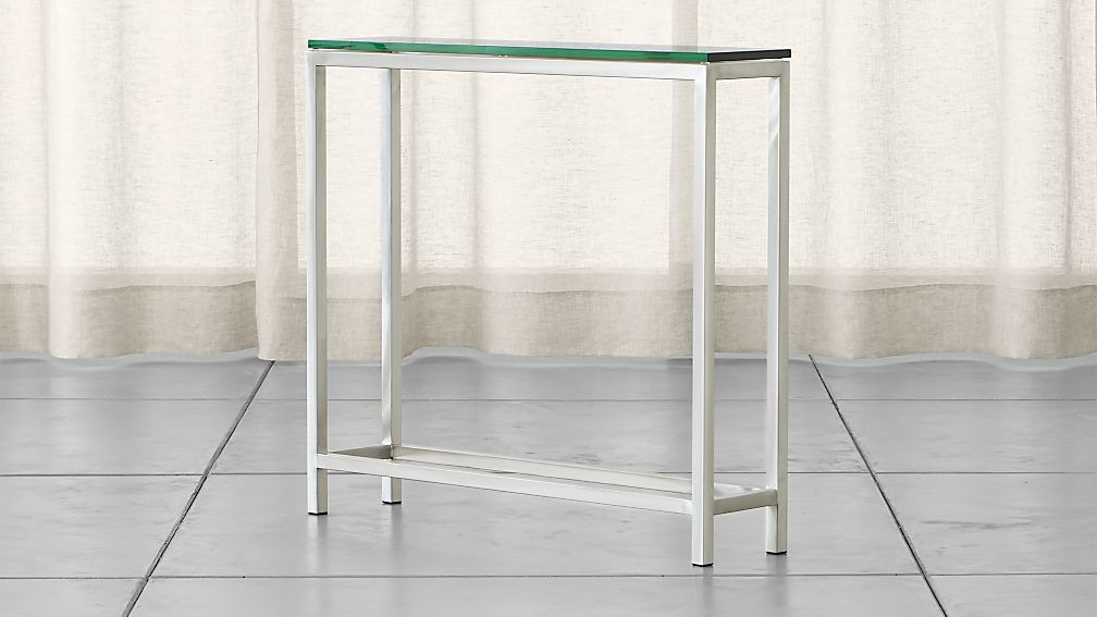 Era Glass Console Table - Image 1 of 9