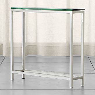 Genial Era Glass Console Table