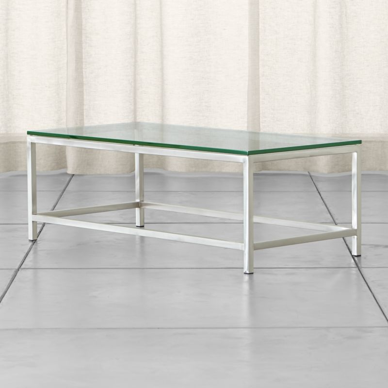 Glass Coffee Tables Next: Era Rectangular Glass Coffee Table + Reviews